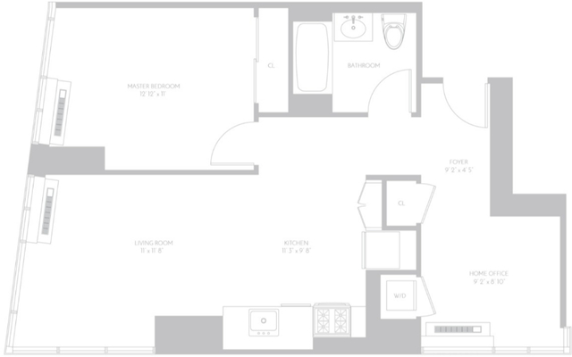 1 Bedroom, Koreatown Rental in NYC for $5,249 - Photo 2