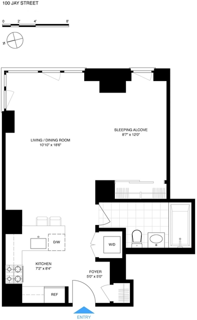 Studio, DUMBO Rental in NYC for $2,795 - Photo 2