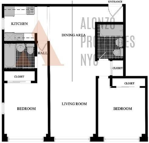 2 Bedrooms, Hell's Kitchen Rental in NYC for $5,525 - Photo 2