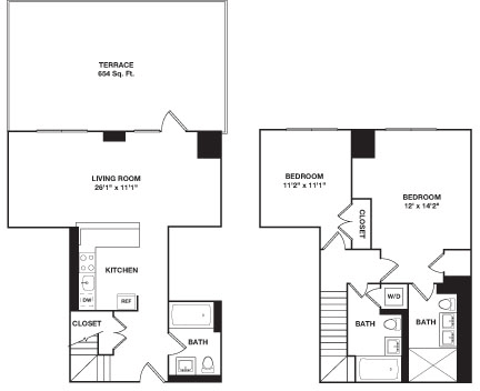 2 Bedrooms, Hell's Kitchen Rental in NYC for $6,620 - Photo 1
