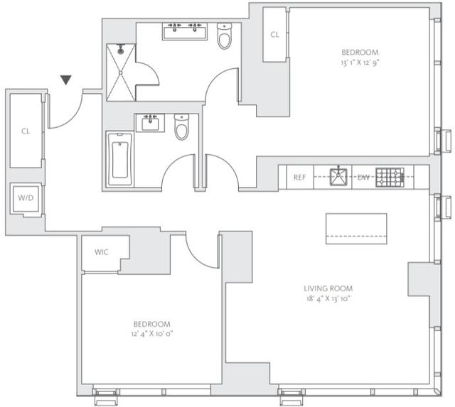 2 Bedrooms, Midtown East Rental in NYC for $6,925 - Photo 2