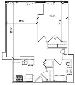 1 Bedroom, Lincoln Square Rental in NYC for $4,988 - Photo 2