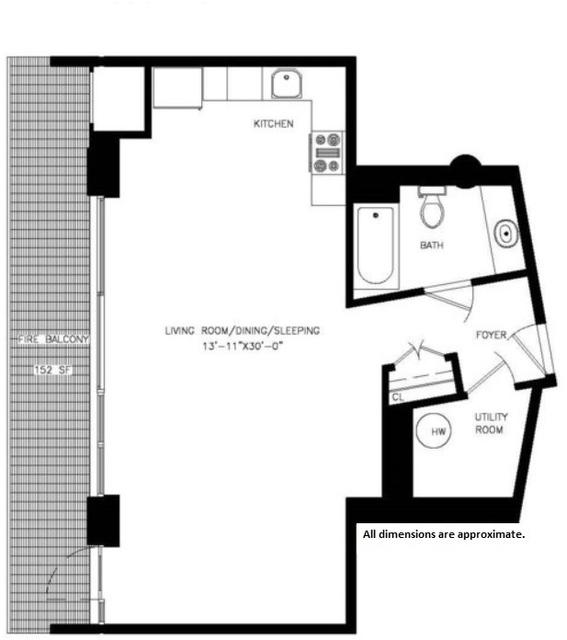 Loft, Vinegar Hill Rental in NYC for $3,025 - Photo 2