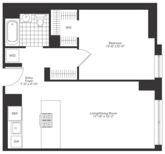 1 Bedroom, Chelsea Rental in NYC for $5,850 - Photo 2