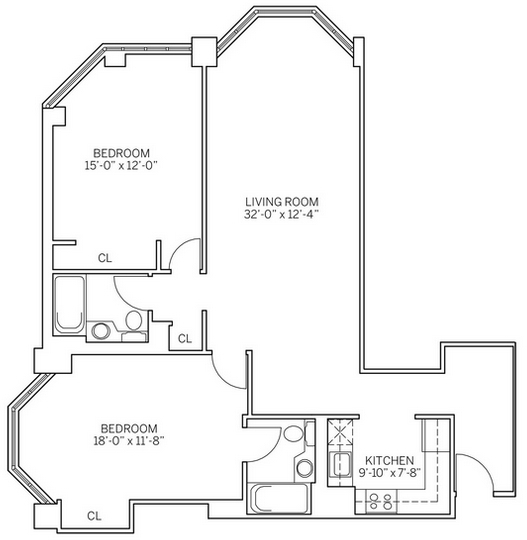 2 Bedrooms, Newport Rental in NYC for $3,785 - Photo 2