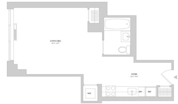 Studio, Lincoln Square Rental in NYC for $3,325 - Photo 2