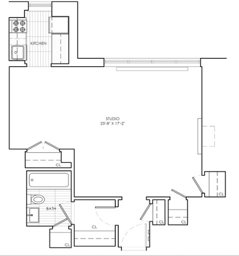 Studio, Sutton Place Rental in NYC for $3,395 - Photo 2