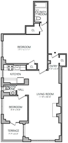 2 Bedrooms, Theater District Rental in NYC for $6,800 - Photo 2