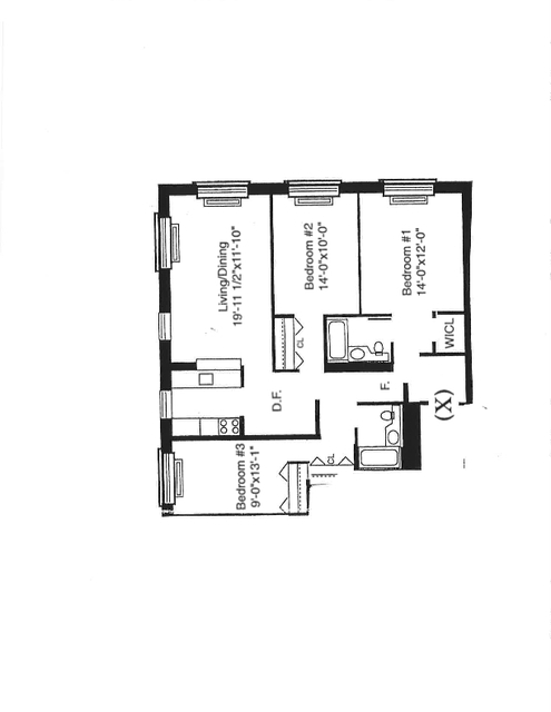 3 Bedrooms, Battery Park City Rental in NYC for $7,301 - Photo 2