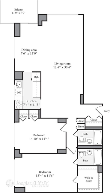 2 Bedrooms, Murray Hill Rental in NYC for $7,022 - Photo 2