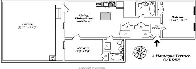 2 Bedrooms, Brooklyn Heights Rental in NYC for $5,950 - Photo 2