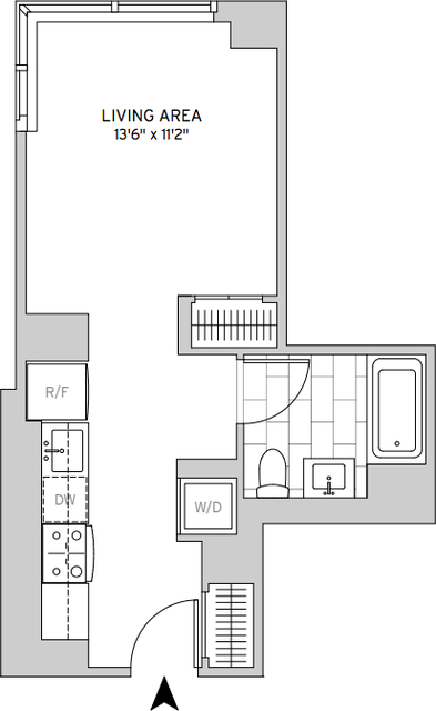 Studio, Murray Hill Rental in NYC for $3,688 - Photo 2