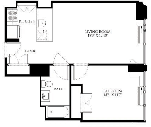 1 Bedroom, Chelsea Rental in NYC for $4,939 - Photo 2
