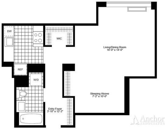 Studio, Chelsea Rental in NYC for $4,135 - Photo 2