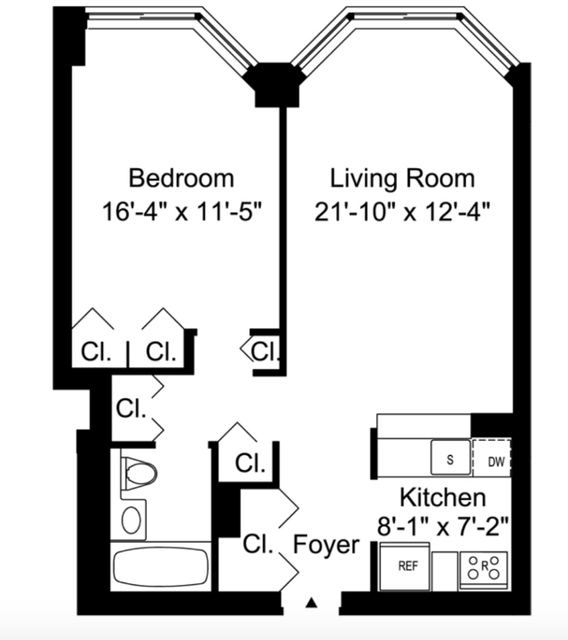 1 Bedroom, Murray Hill Rental in NYC for $4,349 - Photo 2