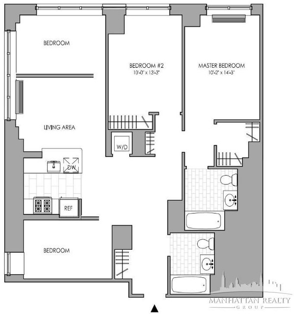 4 Bedrooms, Hell's Kitchen Rental in NYC for $6,395 - Photo 2