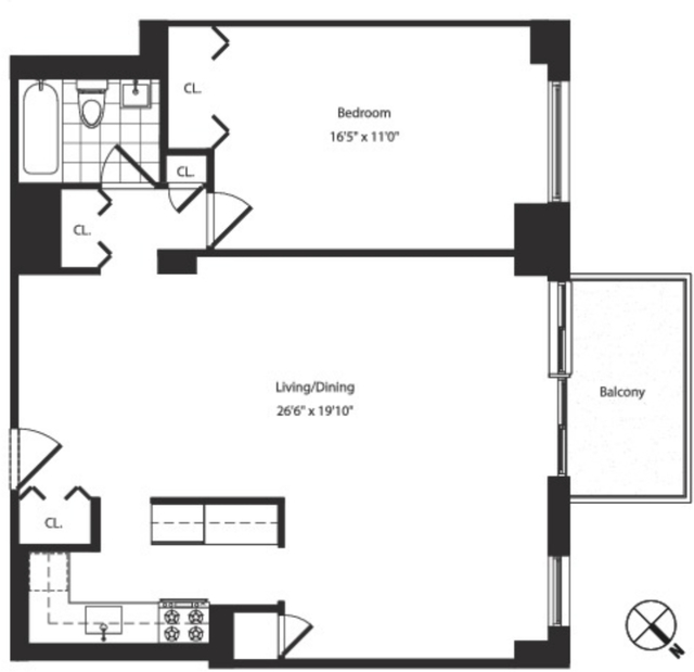 1 Bedroom, Yorkville Rental in NYC for $4,858 - Photo 2