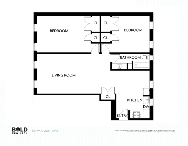 3 Bedrooms, Hell's Kitchen Rental in NYC for $4,975 - Photo 2
