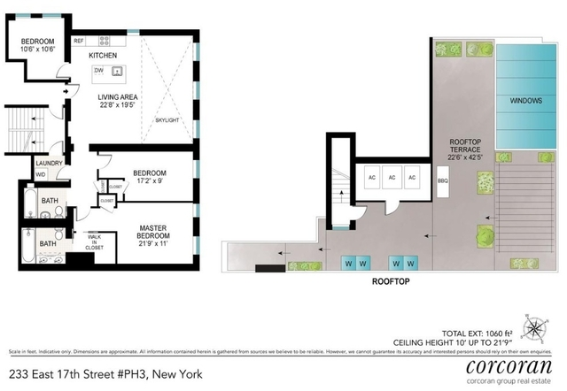 3 Bedrooms, Gramercy Park Rental in NYC for $11,995 - Photo 2