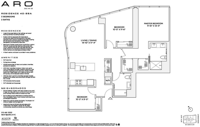 3 Bedrooms, Theater District Rental in NYC for $9,700 - Photo 2