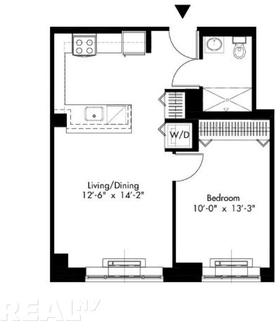 2 Bedrooms, Alphabet City Rental in NYC for $3,346 - Photo 2