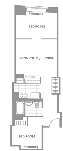 2 Bedrooms, Financial District Rental in NYC for $3,295 - Photo 1