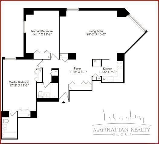 3 Bedrooms, Chelsea Rental in NYC for $4,000 - Photo 2