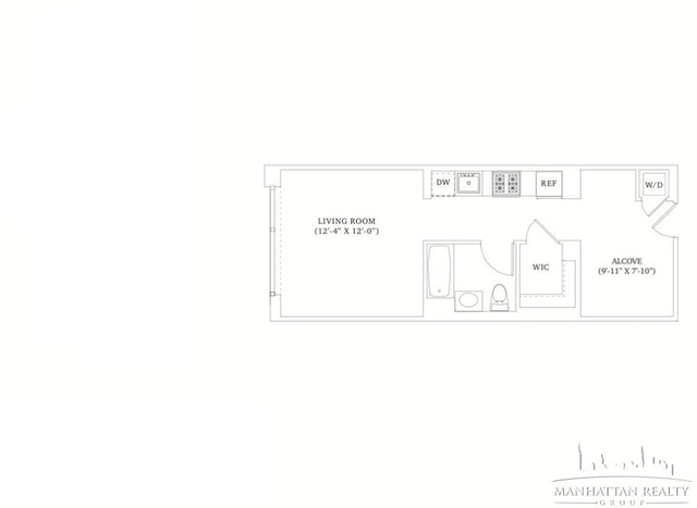 1 Bedroom, Hell's Kitchen Rental in NYC for $2,990 - Photo 2