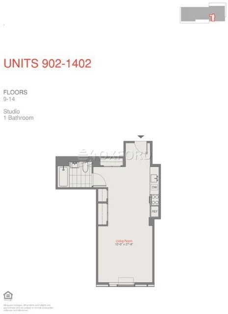 Studio, Prospect Heights Rental in NYC for $2,100 - Photo 2