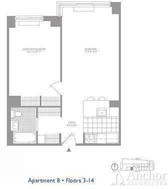 2 Bedrooms, Civic Center Rental in NYC for $3,665 - Photo 2