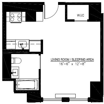 Studio, Financial District Rental in NYC for $2,423 - Photo 2
