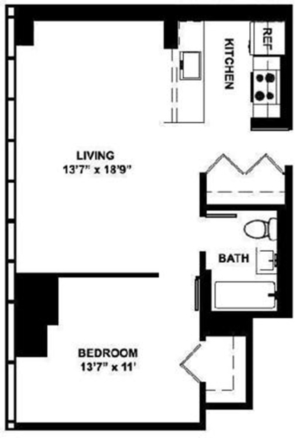 1 Bedroom, Garment District Rental in NYC for $3,600 - Photo 2