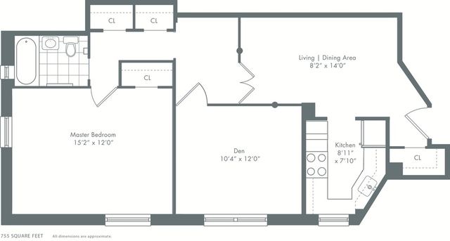 2 Bedrooms, Stuyvesant Town - Peter Cooper Village Rental in NYC for $3,670 - Photo 2