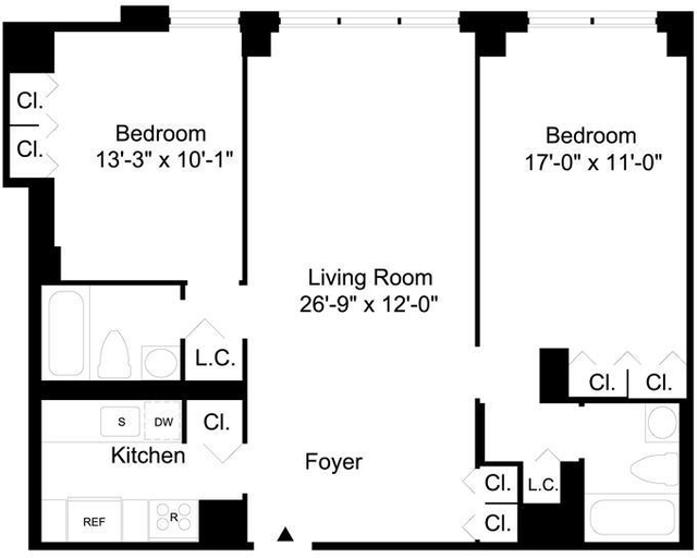 2 Bedrooms, Upper East Side Rental in NYC for $5,495 - Photo 2