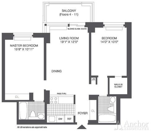 2 Bedrooms, Roosevelt Island Rental in NYC for $3,650 - Photo 2