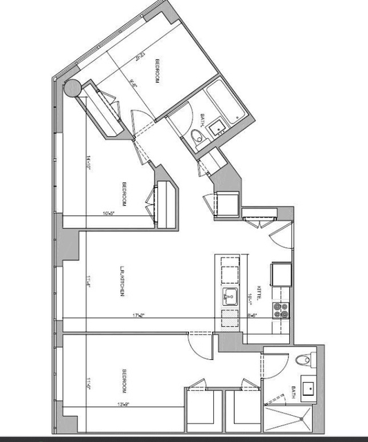 3 Bedrooms, Sutton Place Rental in NYC for $5,990 - Photo 2