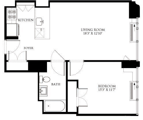 1 Bedroom, Chelsea Rental in NYC for $4,834 - Photo 1