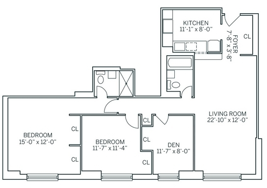 3 Bedrooms, Newport Rental in NYC for $3,835 - Photo 2