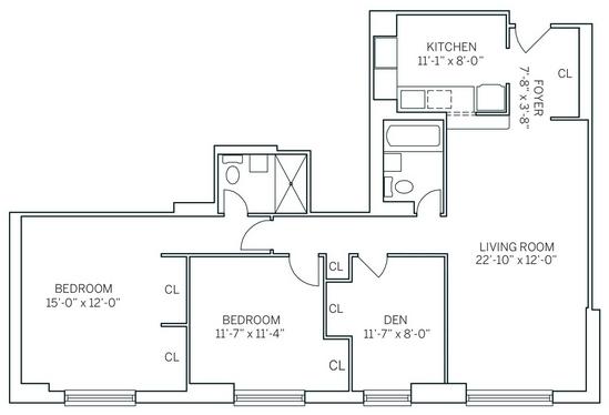 3 Bedrooms, Newport Rental in NYC for $4,010 - Photo 2