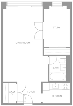 1 Bedroom, Murray Hill Rental in NYC for $2,949 - Photo 2