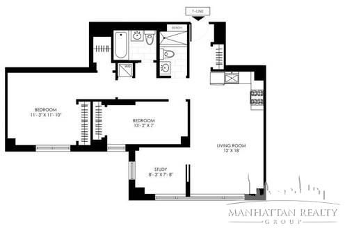 2 Bedrooms, Manhattan Valley Rental in NYC for $5,990 - Photo 2