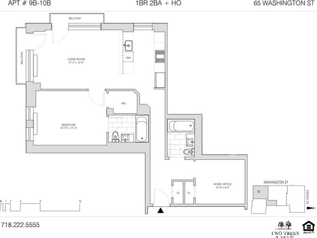 1 Bedroom, DUMBO Rental in NYC for $4,895 - Photo 1