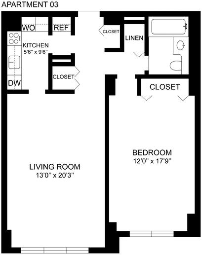 1 Bedroom, Spuyten Duyvil Rental in NYC for $1,841 - Photo 2