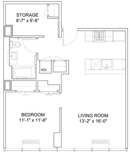 2 Bedrooms, Hell's Kitchen Rental in NYC for $4,491 - Photo 2