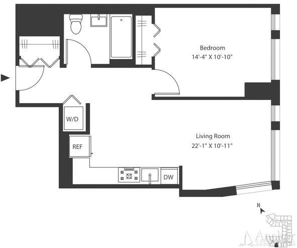 1 Bedroom, Astoria Rental in NYC for $2,612 - Photo 2