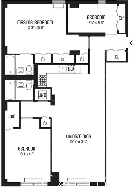 3 Bedrooms, Murray Hill Rental in NYC for $6,716 - Photo 2