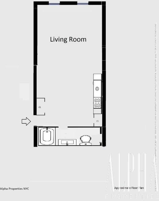 Studio, East Village Rental in NYC for $2,125 - Photo 2