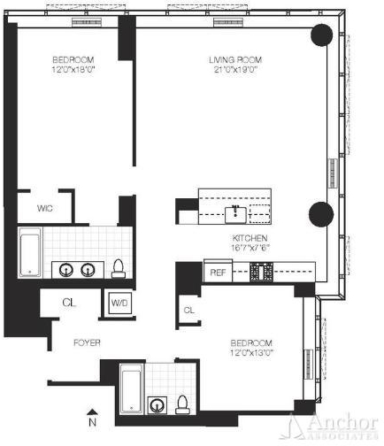 2 Bedrooms, Upper East Side Rental in NYC for $8,215 - Photo 2