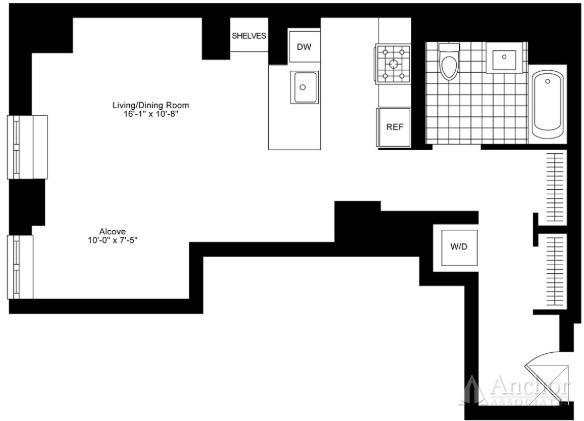 Studio, Hudson Square Rental in NYC for $4,995 - Photo 2