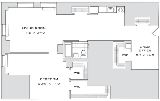 1 Bedroom, Financial District Rental in NYC for $4,998 - Photo 2